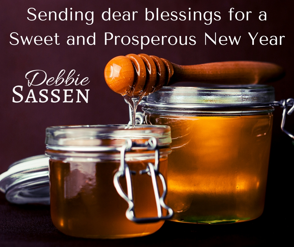Sending dear blessings for a Sweet and Prosperous New Year