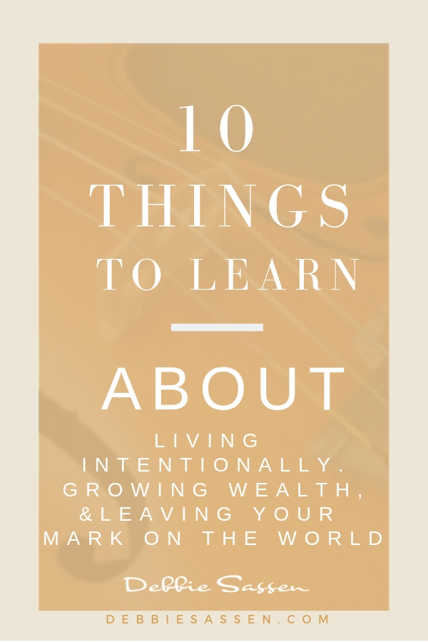 10 things to learn