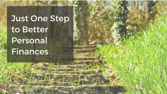 Just One Step to Better Personal Finances