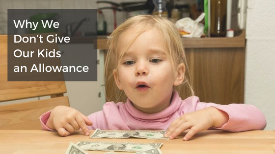 should you give kids an allowance