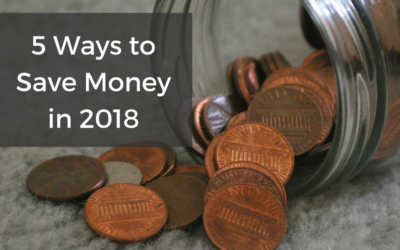 5 Ways to Save Money in 2018