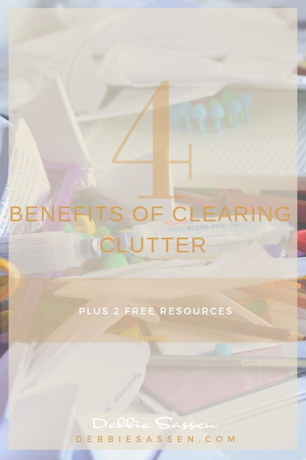 4 reasons to clear clutter plus 2 resources