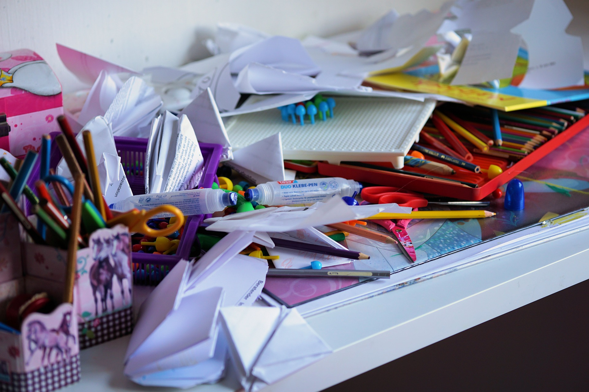 Benefits of clearing clutter