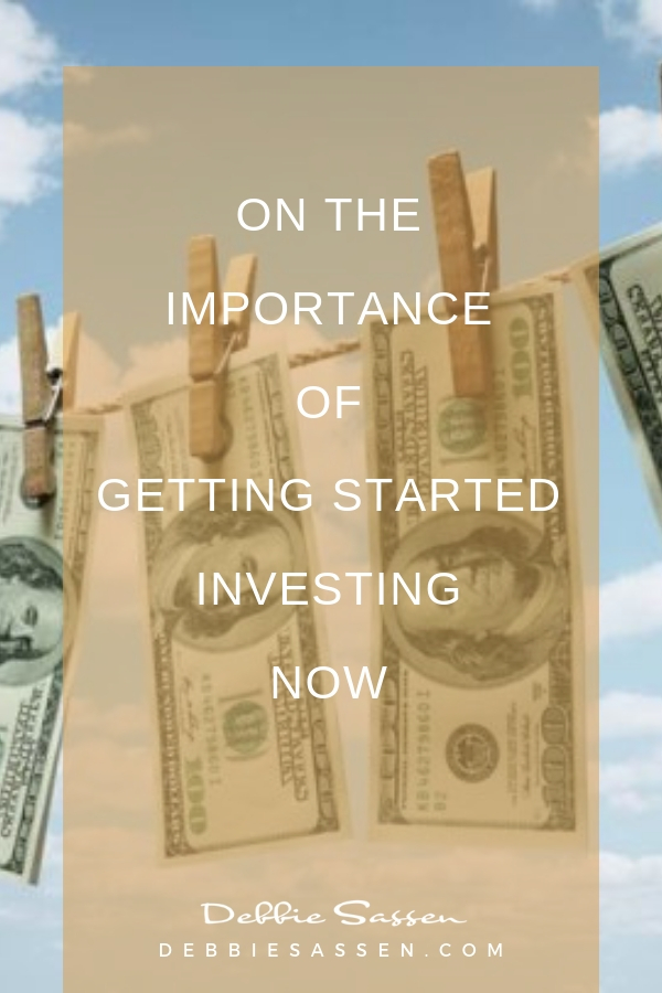 on the importance of investing now