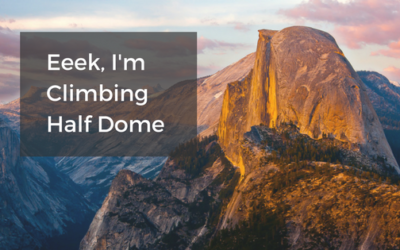 Eeek, I'm climbing Half Dome (special offer inside)