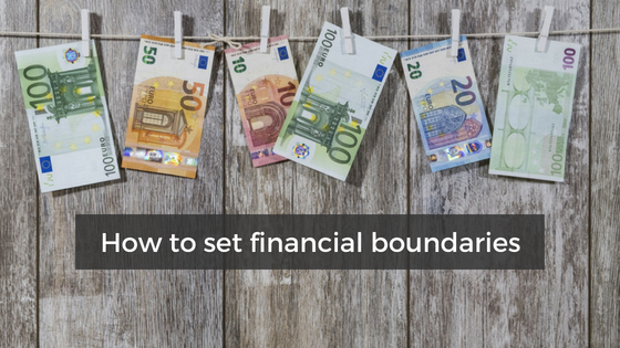 How to set financial boundaries {success story from a client}