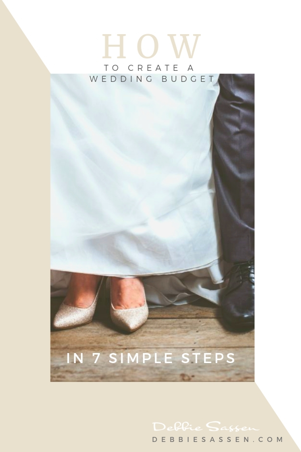 How to create a wedding budget in 7 simple steps debbie sassen