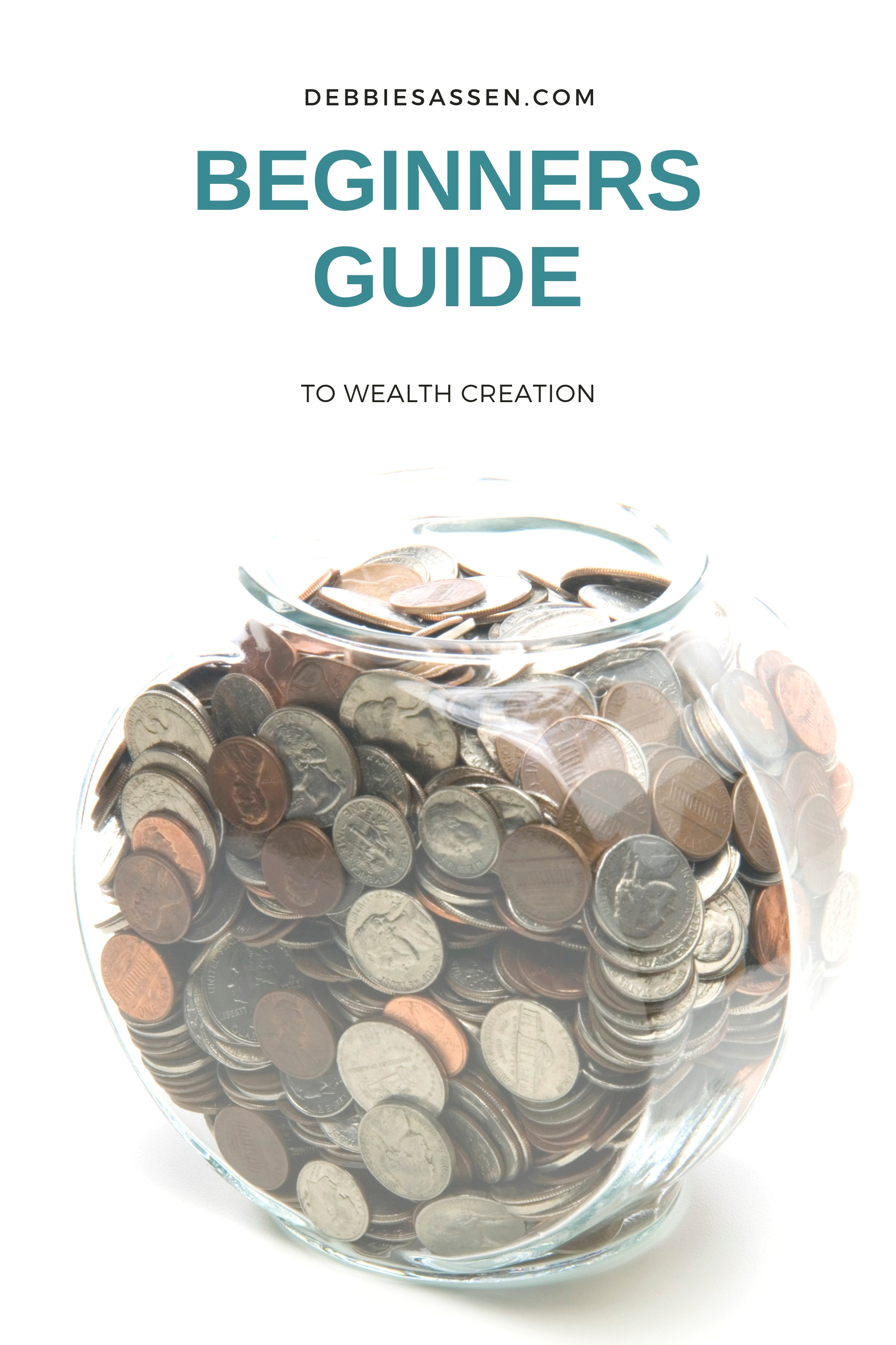 Beginners Guide to Wealth Creation Pin - Debbie Sassen