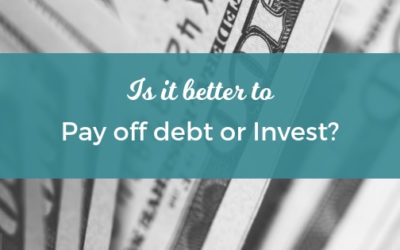 Is it Better to Pay Off Debt or Invest?