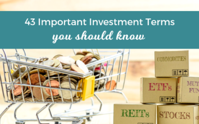 43 Important Investment Terms You Should Know