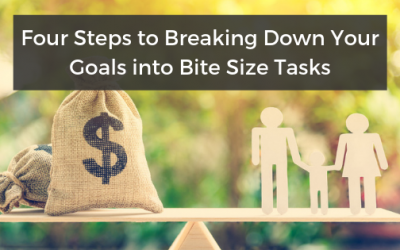 Four Steps to Breaking Down Your Goals into Bite Size Tasks