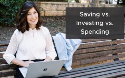 Saving vs. Investing vs. Spending – What's your best bet?